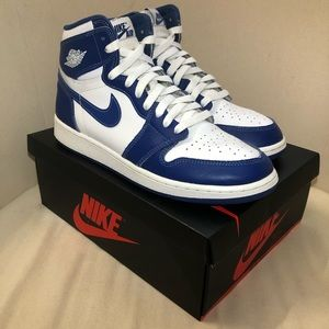 Nike Retro Air Jordan Storm Blue 1s 1